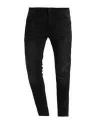 YOURTURN Slim Fit Jeans Black Denim