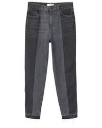 Mango Slim Fit Jeans Black Denim