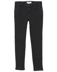 Mango Slim Slim Fit Jeans Black Denim