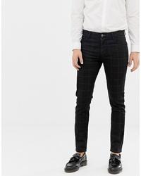 ASOS DESIGN Smart Skinny Jean In Black Check