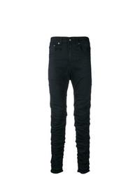 R13 Wrinkled Effect Jeans