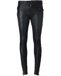 Barbara I Gongini Zip Detail Skinny Trousers