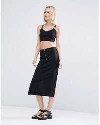 Weekday Co Ord Skirt With Zip