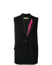 Versace Jeans Colour Block Patch Waistcoat