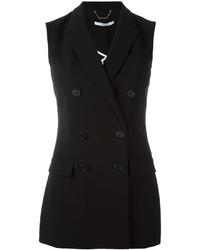Double breasted sleeveless blazer medium 6714301