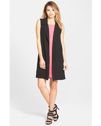 Leith Long Sleeveless Blazer