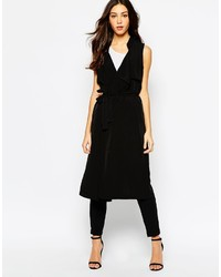 Vero Moda Sleeveless Long Trench Coat