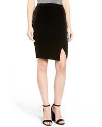 Velvet pencil skirt medium 1055066