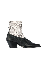 Joseph Layered Look Ankle Boots