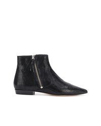 Isabel Marant Snakeskin Effect Ankle Boots