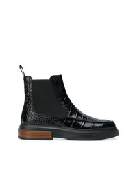 Tod's Croc Effect Boots