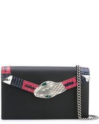 Snake embellished clutch medium 3693097