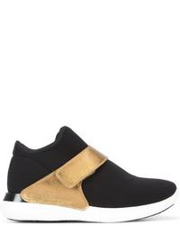 Salvatore Ferragamo Dion Strap Sneakers