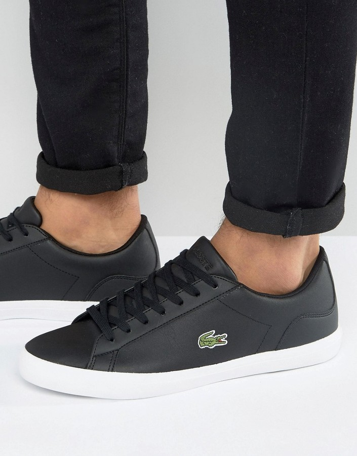 3f7991711ae2cd ... Lacoste Lerond Sneakers In Black ...
