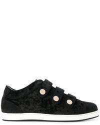 Jimmy Choo Ny Three Strap Sneakers