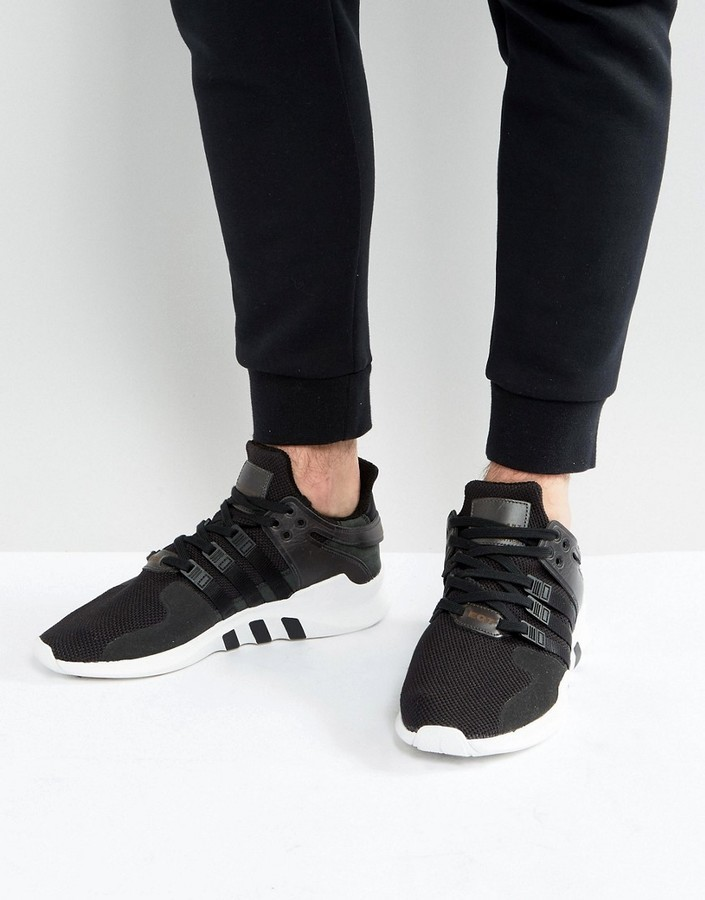 the latest 501e8 4e643 £88, adidas Originals Eqt Support Advance Sneakers In Black Bb1295