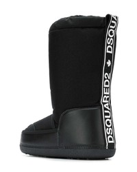 DSQUARED2 Drawstring Snow Boots