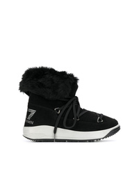 Ea7 Emporio Armani Lace Up Boots