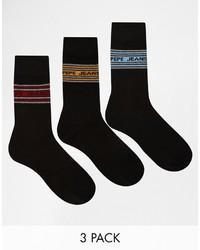 Pepe Jeans 3 Pack Socks