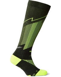 Nike Elite Compression Otc Stretch Knit Dri Fit Running Socks