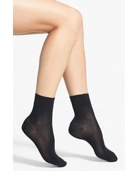 Hue Fine Pixie Socks Black 911