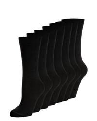 s.Oliver Geschenkdose 7 Pairs Socks Black