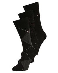 Tommy Hilfiger Mixed Box 3 Pack Socks Black