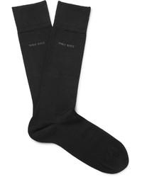 Hugo Boss Paul Mercerised Stretch Cotton Blend Socks