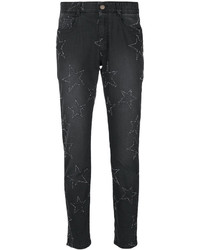 Stella McCartney Star Embroidered Boyfriend Jeans