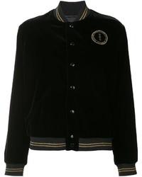 Saint Laurent Star Patch Teddy Jacket