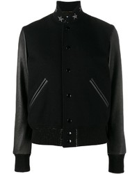 Saint Laurent Star Collar Bomber Jacket