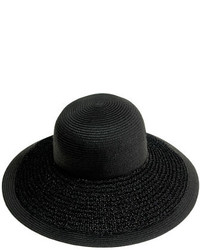 J.Crew Textured Summer Straw Hat