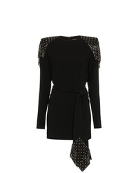Saint Laurent Studded Chainmail Dress