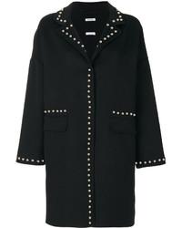 Black Studded Coat