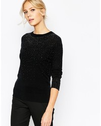 Sapphir crystal stud sweater medium 354958