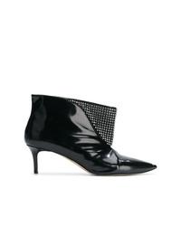 Christopher Kane Crystal Mesh Ankle Boot