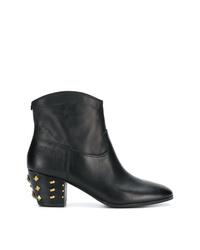 MICHAEL Michael Kors Michl Michl Kors Studded Heel Ankle Boots