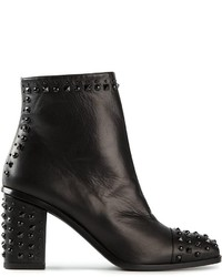 Alexander McQueen Studded Ankle Boots