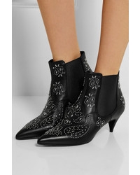 Saint Laurent Studded Leather Ankle Boots outlet clearance store for sale official site from china Inexpensive JVujiP
