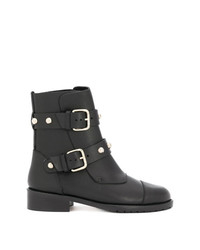 RED Valentino Studded Strap Boots