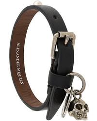 Alexander McQueen Studded Skull Bracelet