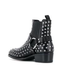 Alexander McQueen Stud Embellished Ankle Boots