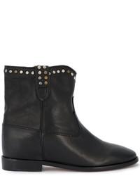 Isabel Marant Cluster Studded Cowboy Boots