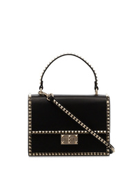Valentino Black No Limit Leather Bag