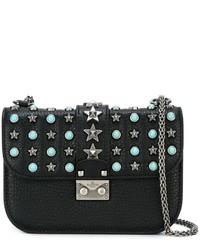 Valentino Glam Lock Star Studded Shoulder Bag
