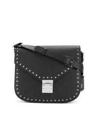MCM Studded Satchel Bag