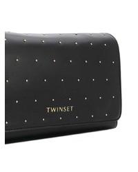 Twin-Set Studded Shoulder Bag