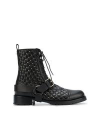Valentino Garavani Rockstud Quilted Boots