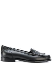 Saint Laurent Fringed Moccasin Loafers