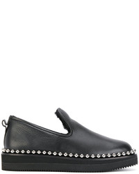 Alexander Wang Stud Trimmed Loafers